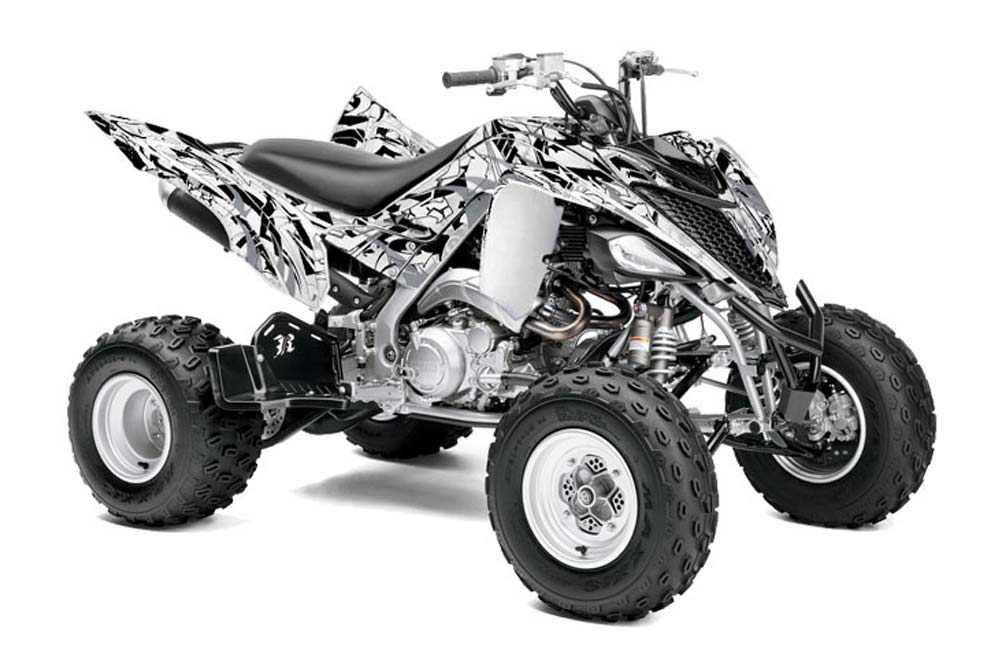 yamaha raptor 700 atv graphics expo silver quad graphic. Black Bedroom Furniture Sets. Home Design Ideas