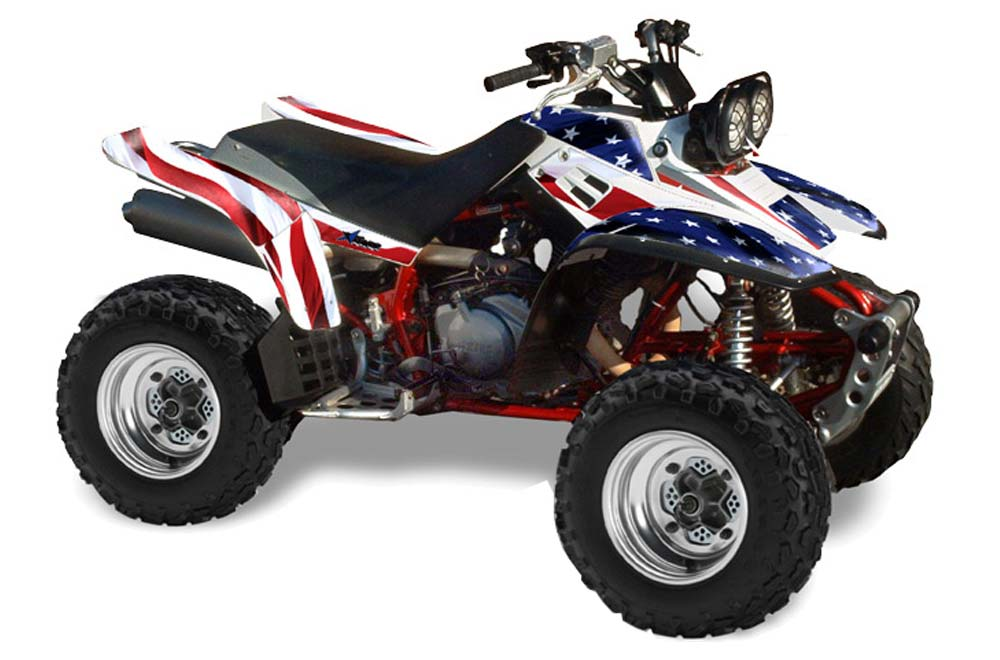 Yamaha warrior 350 atv graphics stars n stripes quad for What year is my yamaha atv