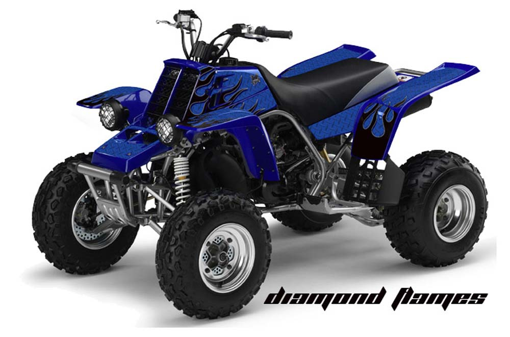 Yamaha banshee 350 full bore plastics atv graphics for What year is my yamaha atv
