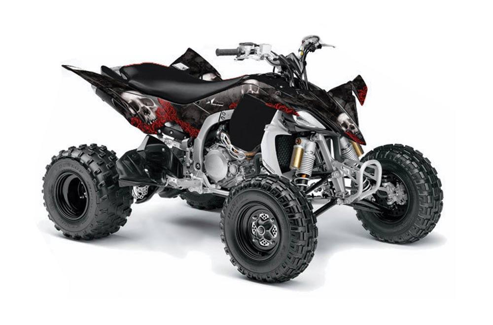 Yamaha YFZ 450SE / 450R ATV Graphic Kit - 2009-2013 Bone Collector Black