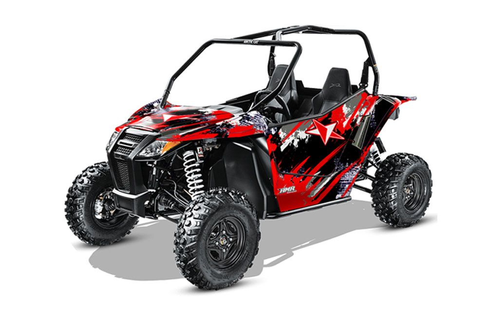 arctic cat wildcat limited 700 utv graphics street star red side by side graphic decal wrap. Black Bedroom Furniture Sets. Home Design Ideas