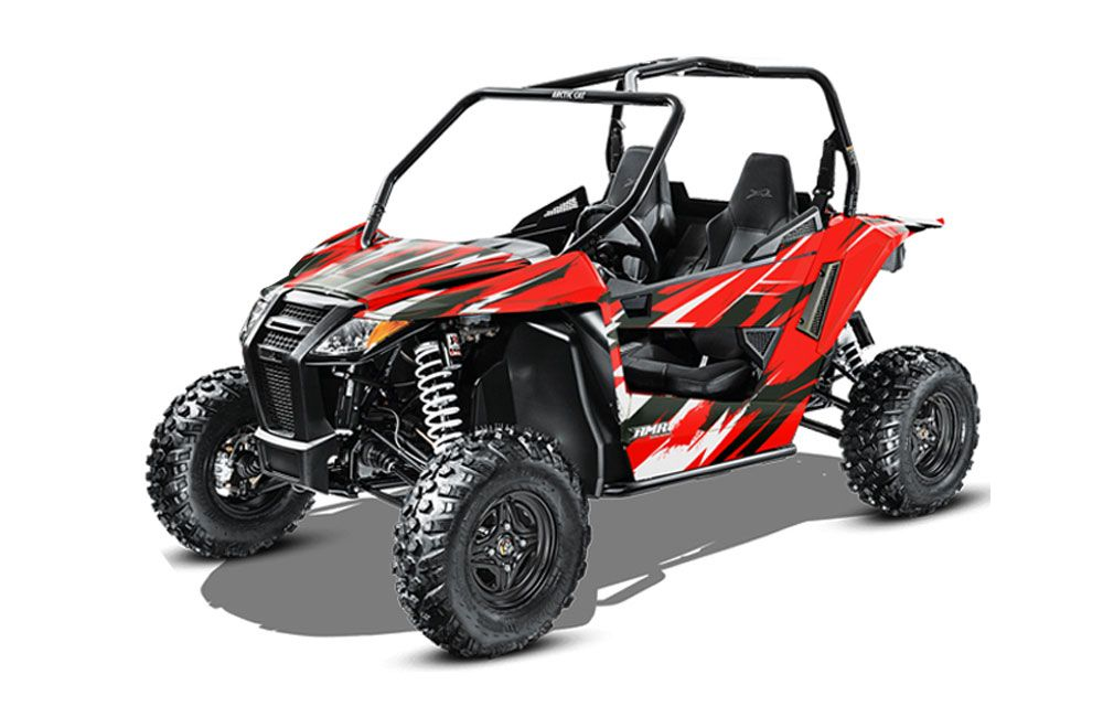 arctic cat wildcat sport xt 700 utv graphics attack red side by side graphic decal wrap kit. Black Bedroom Furniture Sets. Home Design Ideas