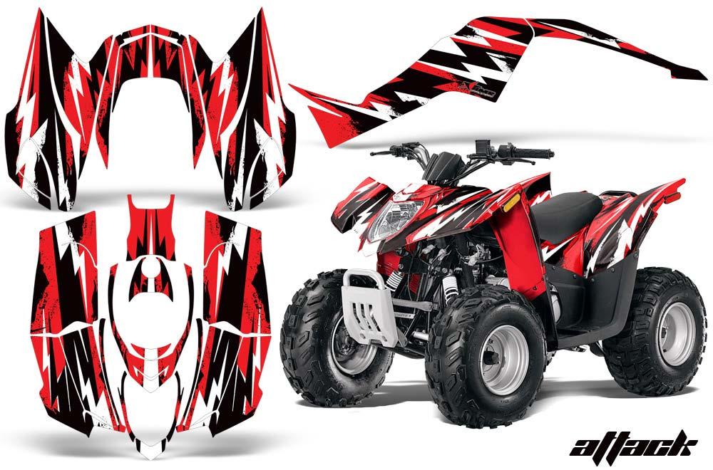 Arctic Cat DVX90 ATV Custom Graphic Kit - 2008-2017