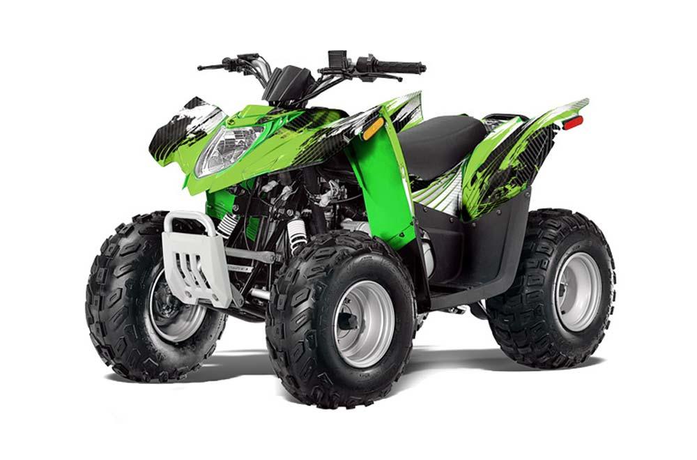 Arctic Cat DVX90 ATV Graphic Kit - 2008-2017 Carbon X Green