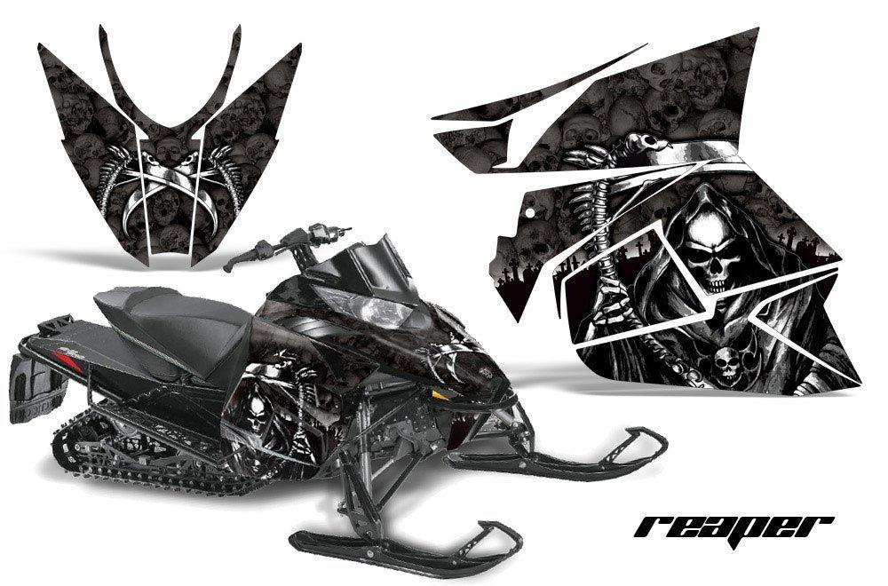 Arctic Cat ProCross Sno Pro Sled Graphic Kit - 2012-2016 Reaper Black