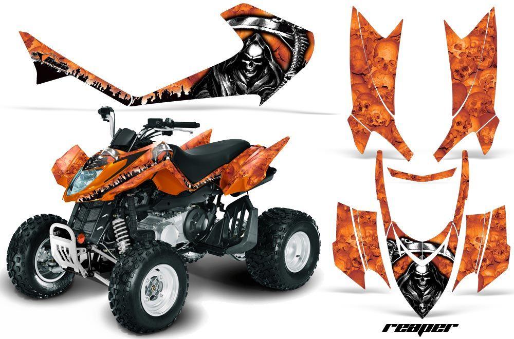 Arctic Cat DVX300 ATV Custom Graphic Kit - All Years
