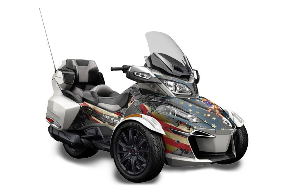 Can Am BRP (RTS) Spyder Graphic Kit - 2014-2016 WW2