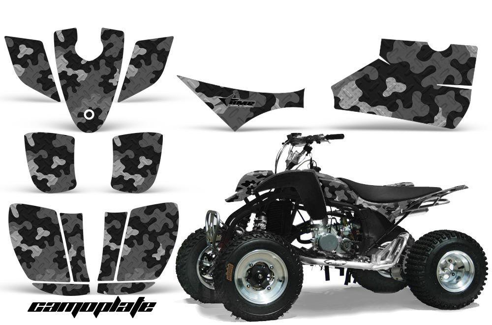 Cobra ECX 50 / 70 / 80 ATV Graphic Kit - All Years Camoplate Black