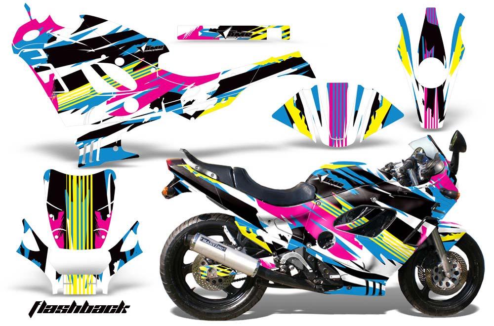 Suzuki Gsxr 600 750f Katana Street Bike Graphics Flashback Sport