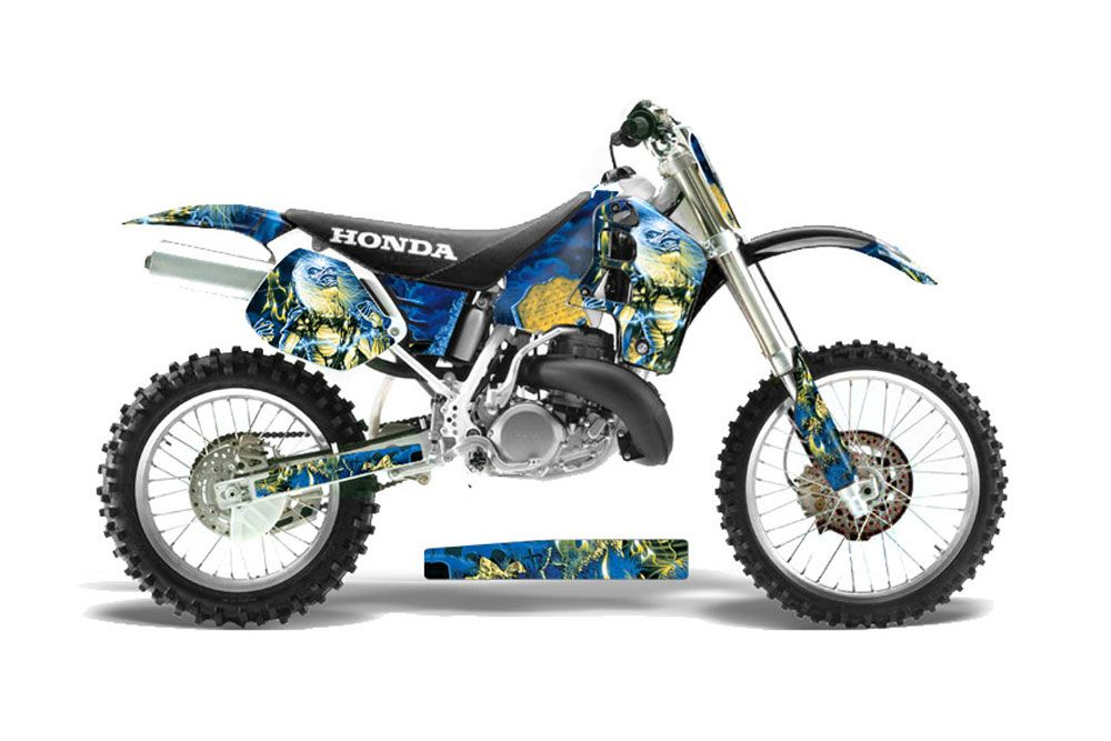 Honda Cr500 Dirt Bike Graphics Iron Maiden Live After Death Mx Graphic Decal Wrap Kit Dirt