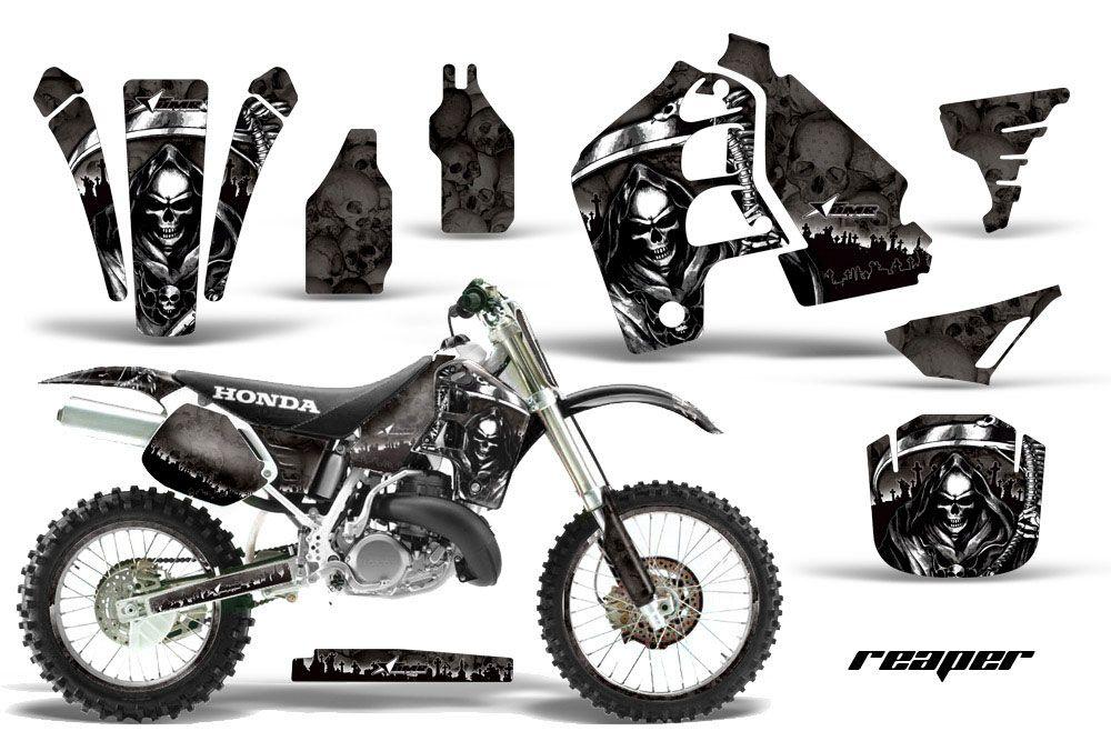 honda cr500 dirt bike graphics  reaper