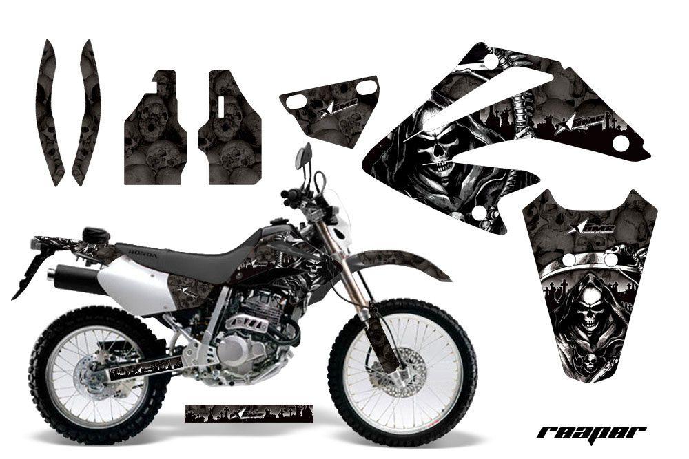 Honda XR250 SM Dirt Bike Graphic Kit - 2003-2005 Reaper Black