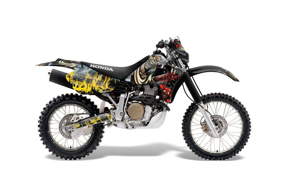 Honda XR650R Dirt Bike Graphics: Iron Maiden NOB - MX Graphic Decal Wrap Kit | Dirt Bike ...