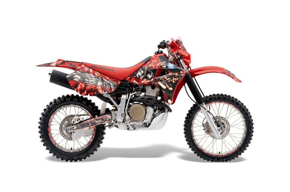 Honda XR650R Dirt Bike Graphic Kit - 2000-2010 Mad Hatter Red