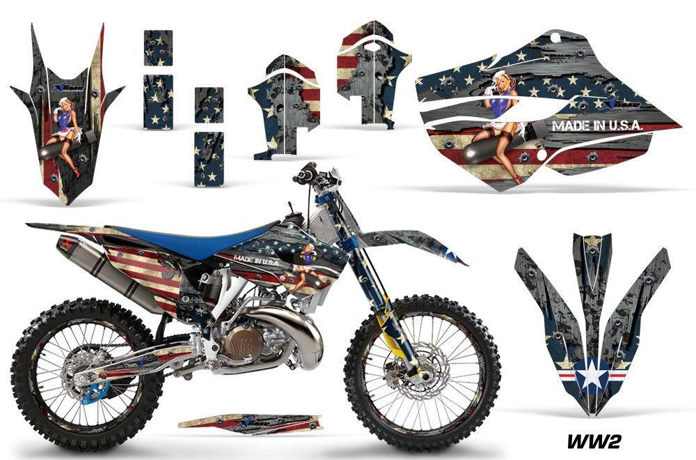 Husaberg TC / FC 250 Dirt Bike Graphic Kit - 2013-2014 WW2