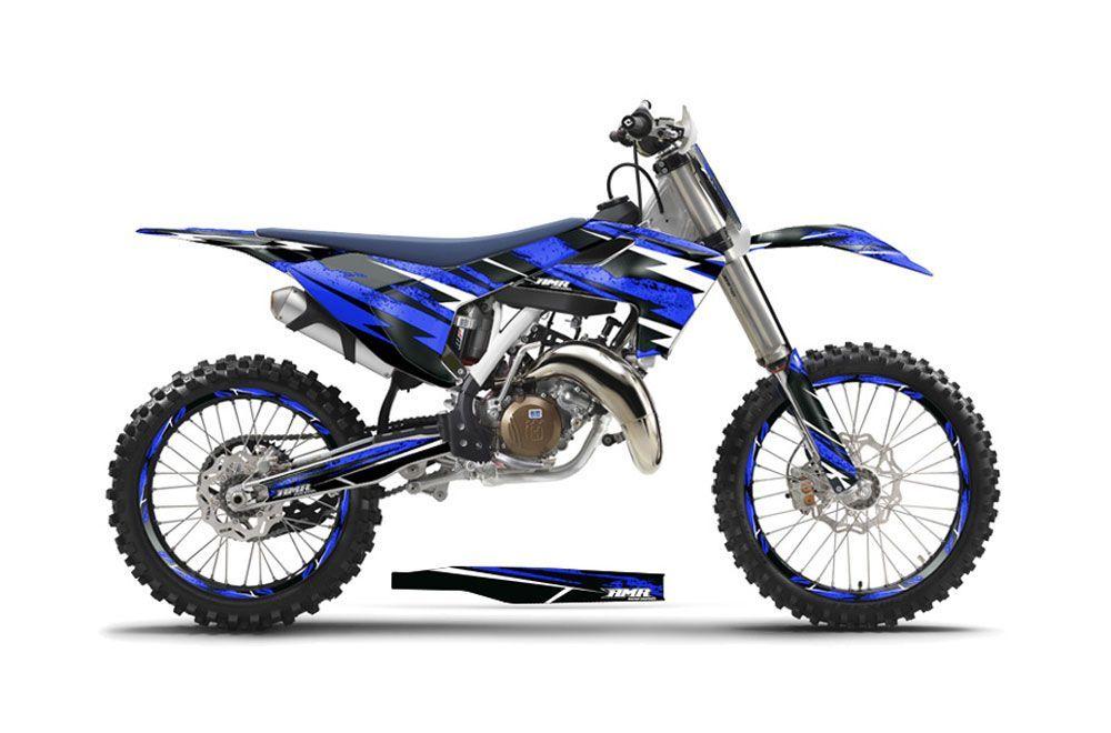 Husqvarna FC 350 Dirt Bike Graphic Kit - 2016-2017 Attack Blue