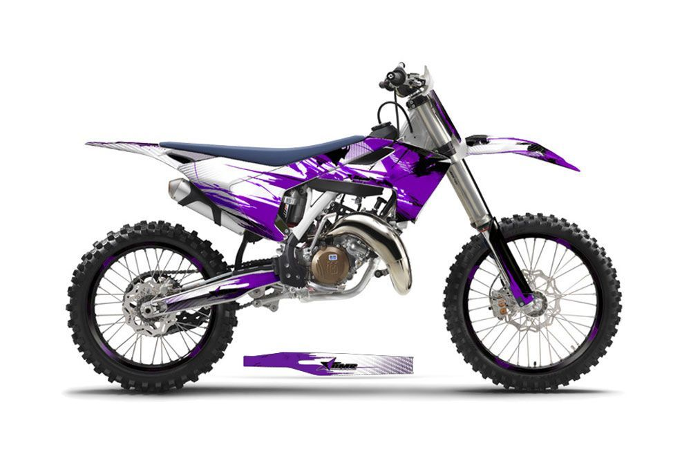 Husqvarna FC 350 Dirt Bike Graphic Kit - 2016-2017 Carbon X Purple