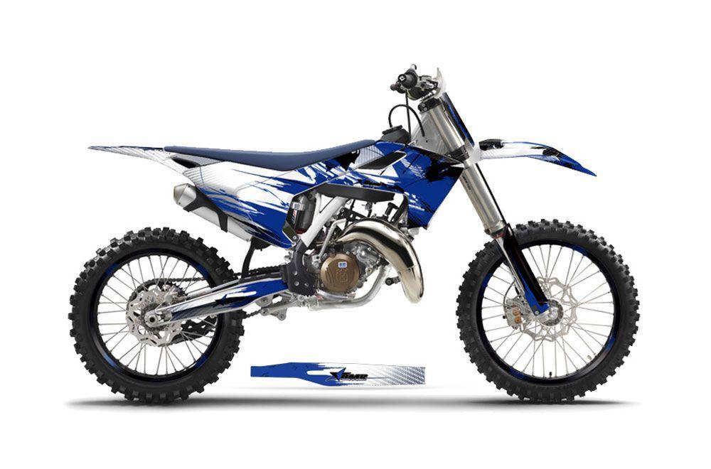 Husqvarna FC 350 Dirt Bike Graphic Kit - 2016-2017 Carbon X Blue