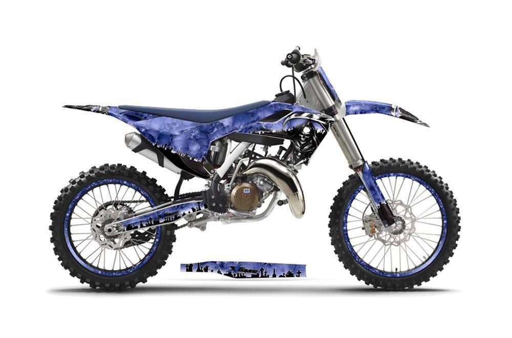 Husqvarna FC 250 Dirt Bike Graphic Kit - 2016-2017 Reaper Blue