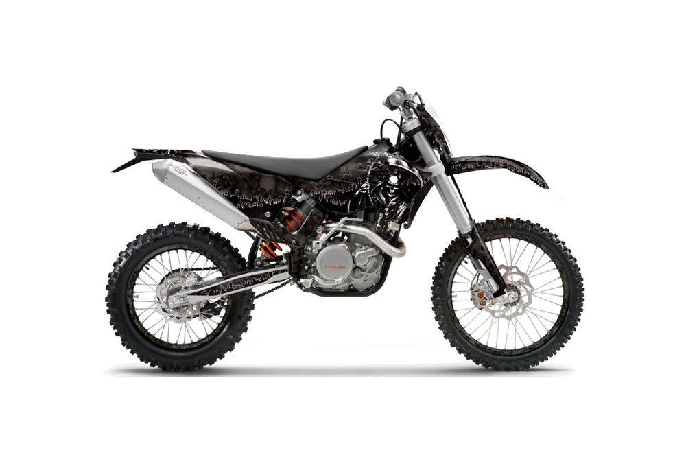 ktm c5 xcw 125 dirt bike graphics  reaper