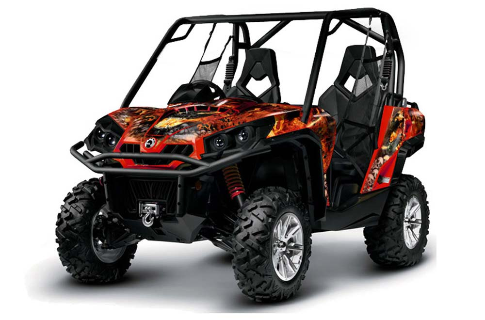 Can-Am Commander 1000/800 UTV Graphics (All Years)