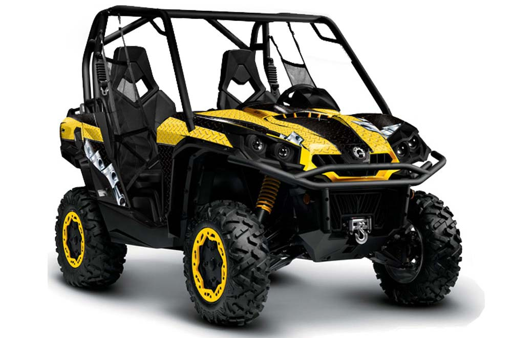 can am commander 1000 800 utv graphics diamond race. Black Bedroom Furniture Sets. Home Design Ideas
