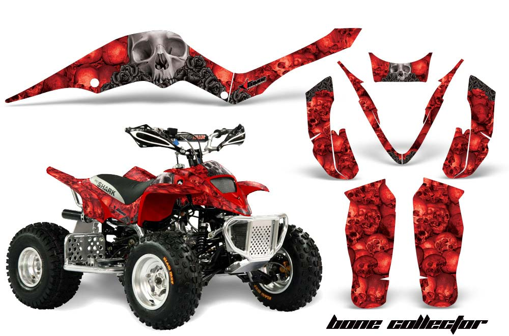 Apex Pro Shark MXR 70 / 90 ATV Custom Graphic Kit - All Years