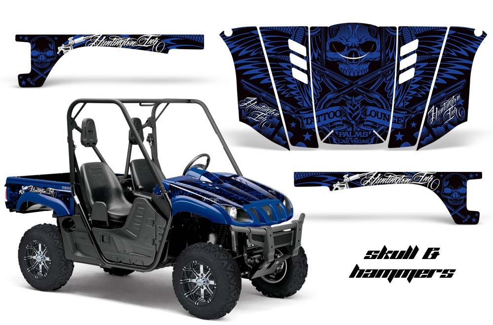 Yamaha rhino 700 660 450 utv graphics huntington ink for 2007 yamaha rhino 660 blue book value