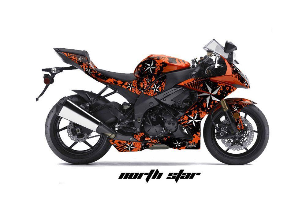Kawasaki ZX10 Ninja Street Bike Graphics: Northstar ...