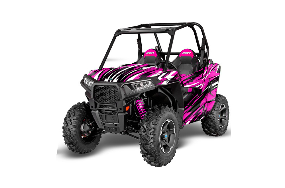 Polaris Rzr 900s Utv Graphics Attack Pink Side By Side