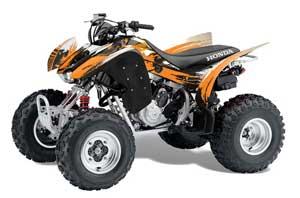 Honda TRX 300EX ATV Graphic Kit - 2007-2013 Carbon X Orange