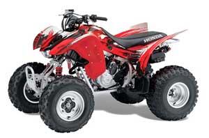 Honda TRX 300EX ATV Graphic Kit - 2007-2013 Carbon X Red