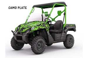 Kawasaki Teryx 750 Graphic Kit - 2007-2009 Camoplate Green