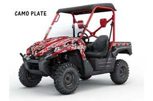 Kawasaki Teryx 750 Graphic Kit - 2007-2009 Camoplate Red