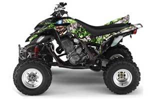 Honda TRX 700 XX ATV Graphic Kit - 2009-2015 Bone Collector Black Madhatter