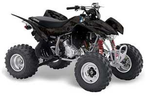 Honda TRX 400 EX ATV Graphic Kit - 2008-2016 Mad Hatter Black