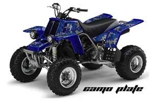 Yamaha Banshee 350 (Full Bore Plastics) ATV Graphic Kit - All Years Camoplate Blue