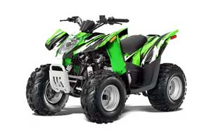 Arctic Cat DVX50 ATV Graphic Kit - 2008-2017 Attack Green