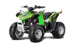Arctic Cat DVX50 ATV Graphic Kit - 2008-2017 Carbon X Green