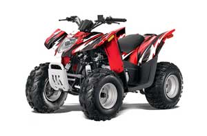 Arctic Cat DVX90 ATV Graphic Kit - 2008-2017 Attack Red