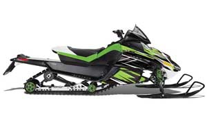 Arctic Cat Z1 Turbo Sled Graphic Kit - 2006-2012 Attack Green