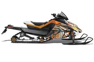 Arctic Cat Z1 Turbo Sled Graphic Kit - 2006-2012 Deaden Orange
