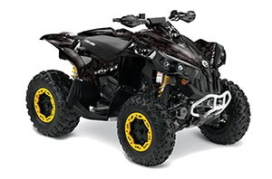 Can Am Renegade 500x/r / 800x/r ATV Graphic Kit - All Years Reaper Black