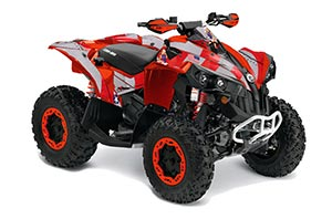 Can Am Renegade 500x/r / 800x/r ATV Graphic Kit - All Years T Bomber Red