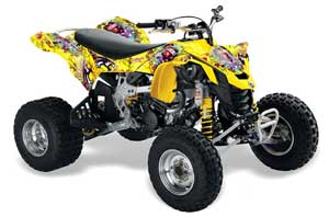 New QuadBoss ATV Tie Rod Assembly Upgrade Kit 2008-2009 Can-Am DS450 X ATV