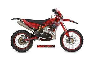 Gas Gas EC 300 Dirt Bike Graphic Kit - 2011-2012 Reaper Red