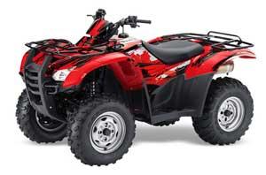 Honda Rancher AT ATV Graphic Kit - 2007-2013 Carbon X Red
