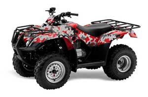Honda Recon ES Fourtrax ATV Graphic Kit - 2005-2018 Camoplate Red