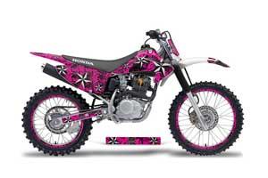 Honda CRF230 F Dirt Bike Graphic Kit - 2003-2007 Northstar Pink