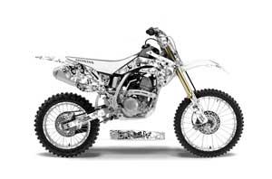 Honda CRF150 R Dirt Bike Graphic Kit - 2007-2016 Butterfly White